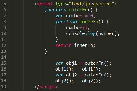javascript之闭包