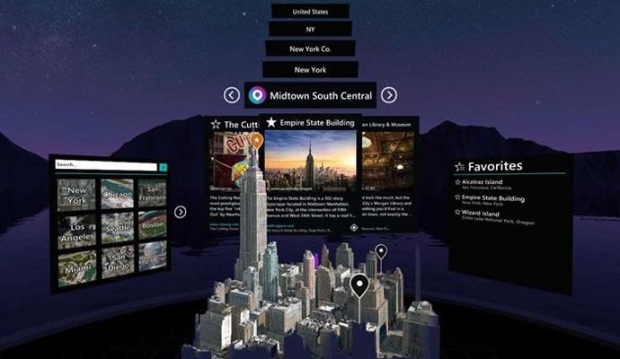 微软车库发布3D Maps SDK 展示Outings混合现实应用