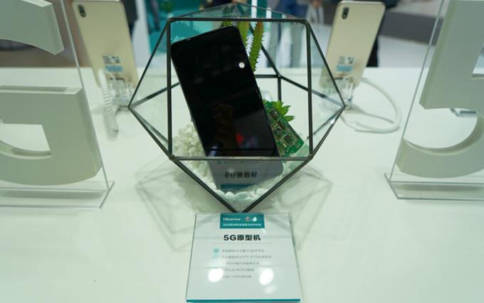 迈入5G时代 海信携5G原型机亮相2019上海联通展