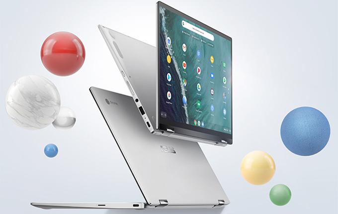 华硕发布Chromebook Flip C434新品:造型靓丽 屏幕可翻转