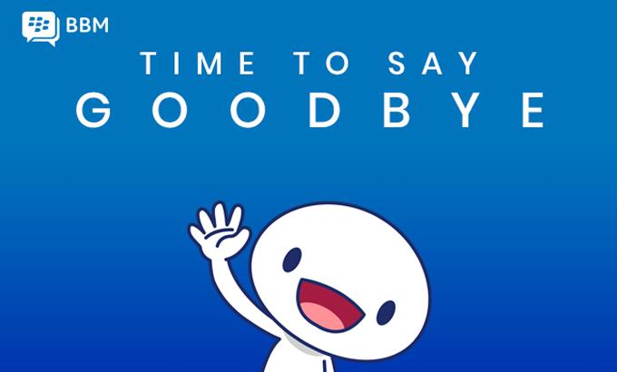 黑莓宣布消费者版本BBM应用将于5月31日停止服务