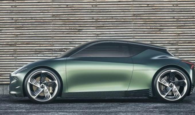 不是Mini:Genesis打造小型薄荷绿电动汽车Mint
