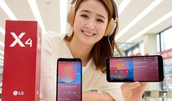 LG在韩推出中端机型X4:具备Hi-Fi音质播放