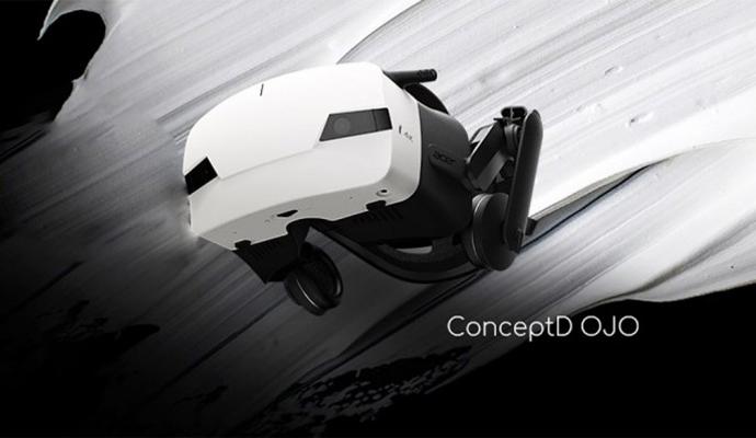 [图]宏碁展示自家高端VR头显设备--ConceptD OJO