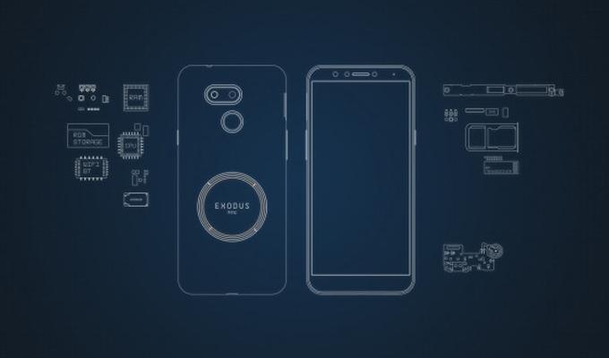 HTC公布旗下第二款区块链手机Exodus 1s:定位中端、9月前发售
