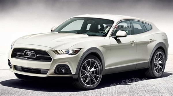 续航600公里 福特电动Mustang SUV渲染图现身