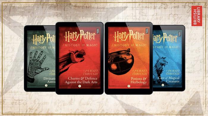 全新《哈利·波特》系列电子书将让粉丝更加深入了解魔法世界