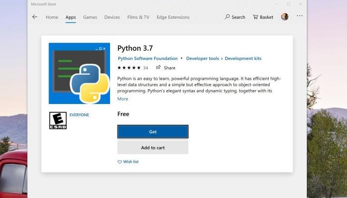 Windows 10 2019五月更新让Python安装和使用变得更加容易