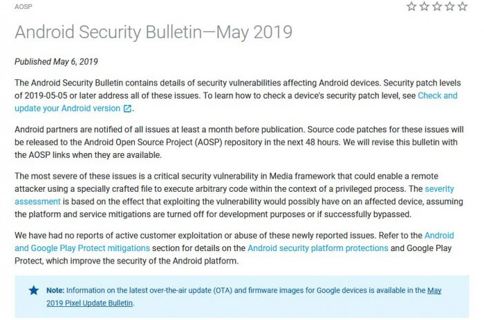 google-releases-android-security-patch-for-may-2019-includes-30-security-fixes-pic02