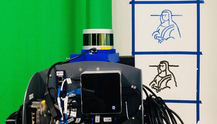 """美国大学生创建深度学习算法 """"教会""""机器人临摹手写和绘画内容"""