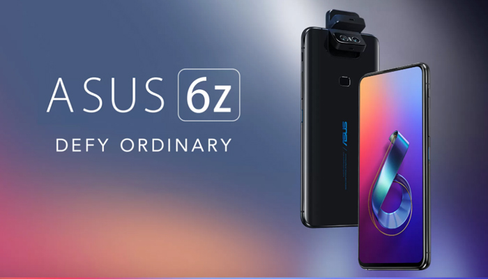 DxO前置第一 华硕ZenFone 6印度改名为华硕6Z