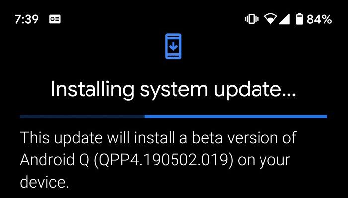 谷歌修复了Pixel智能机安装Android Q Beta 4后循环重启的bug