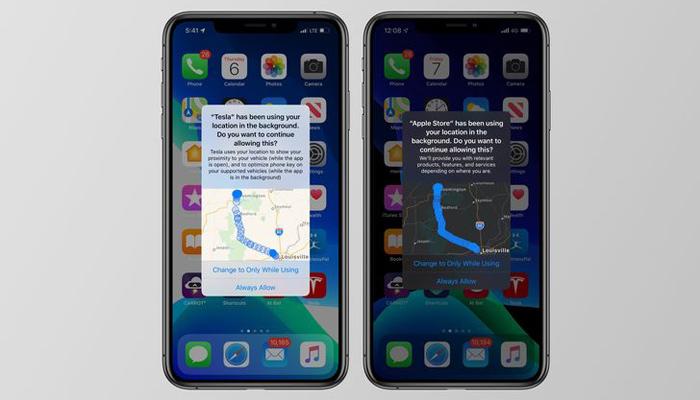 [图]iOS 13增强隐私保护:可显示带地图的后台定位追踪应用通知