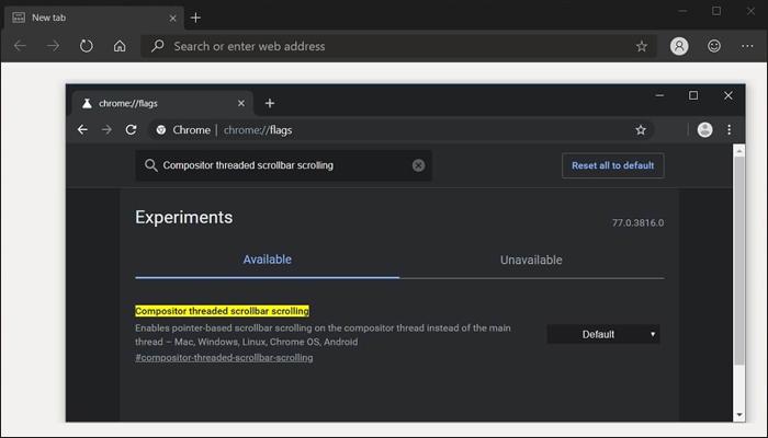 [图]微软为Windows 10端Chromium添加更多滚动特性