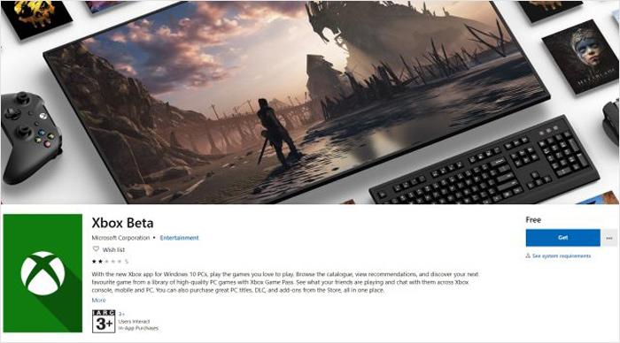微软表示Xbox PC App将支持Win32游戏和Mod支持