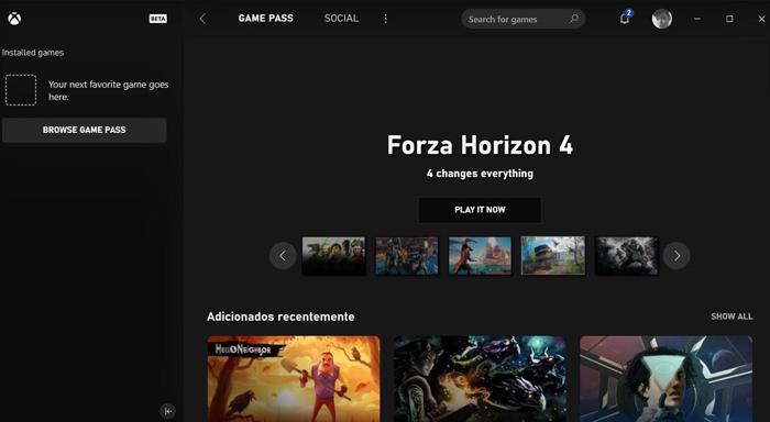 新的Xbox桌面应用截图泄露 预示平台会有大动作