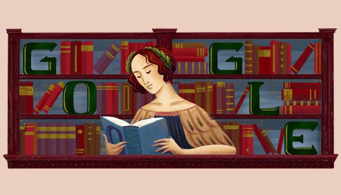 今日Doodle:庆祝首位女性博士埃伦娜诞辰373周年