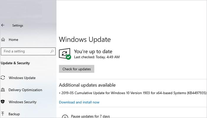 用户吐槽Windows 10 KB4497935存在重复多次安装的问题