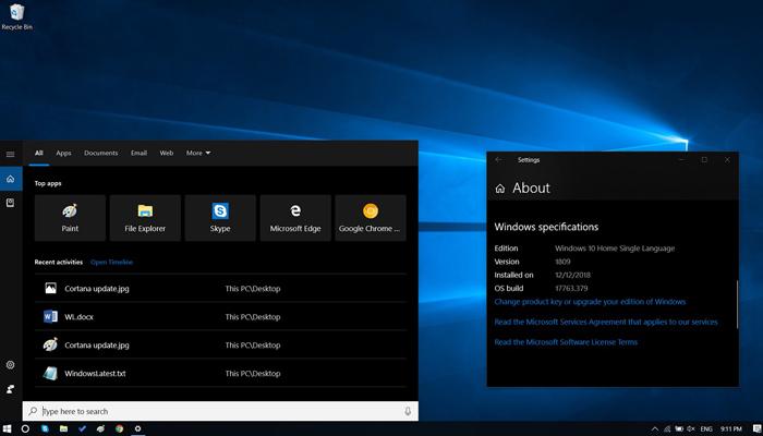 [图]Windows 10 Build 17763.592发布:修复蓝牙连接和旧版Edge问题