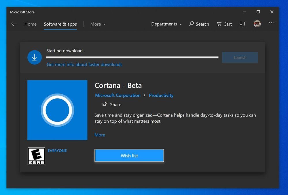 [图]美区Fast通道用户现可使用Cortana Beta:体验聊天式对话