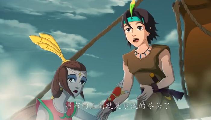 国产动画电影《天池水怪》精美预告 7月19日上映