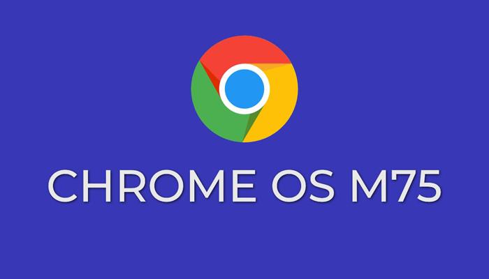 [图]谷歌重新推送Chrome OS 75 不过仅限于Pixel Slate