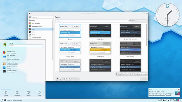 [图]KDE Plasma 5.16.3维护版本更新发布:带来30多处优化