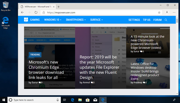 Windows 10版Edge Canary已可限制网站的自动媒体播放