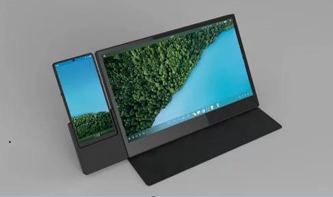罗永浩点赞全新便携式触控屏设计 坚果R1的TNT绝配