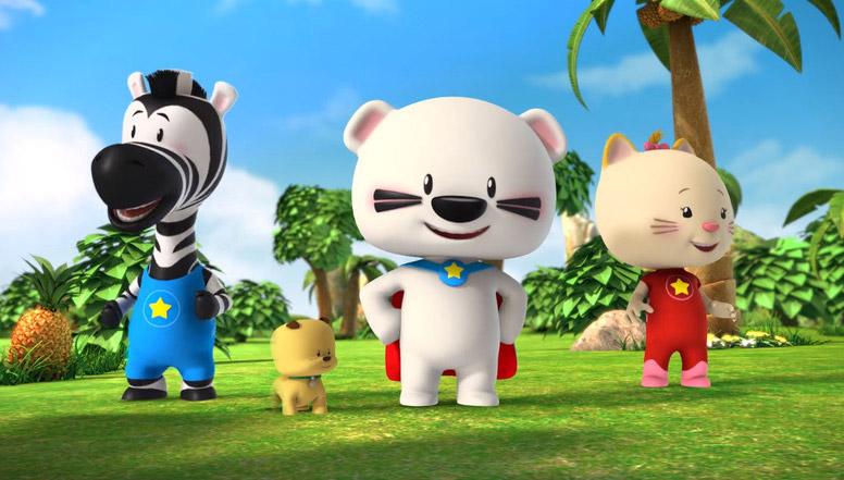 《超级小熊布迷》28亿播放量 带动中国动画IP出海