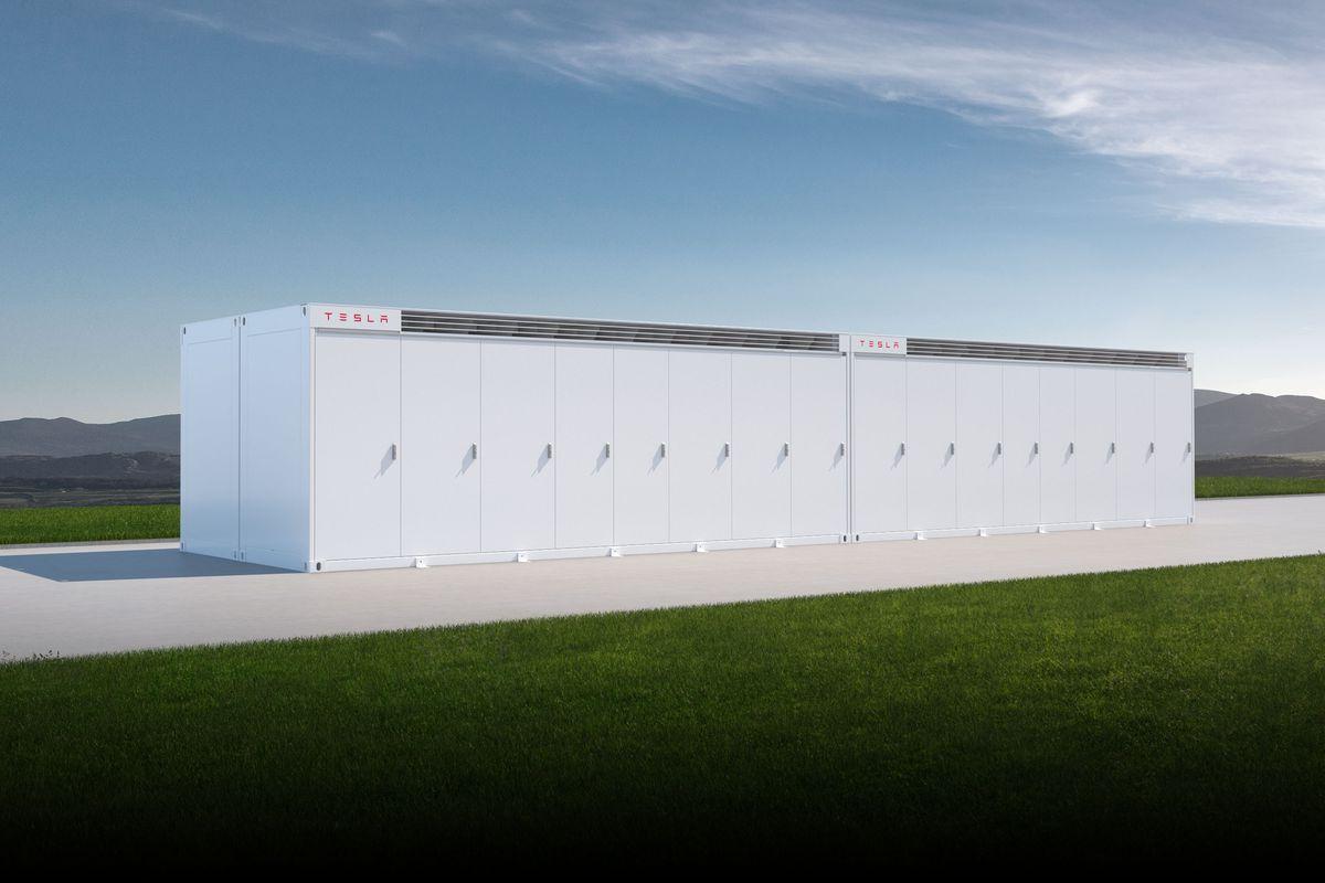 [图]特斯拉宣布Megapack:本地电网超负荷时可缓解供电压力