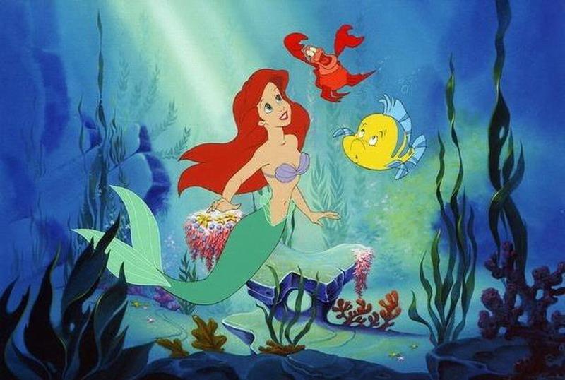 《小美人鱼》真人版肤色引争议 网友将迪士尼公主们肤色改