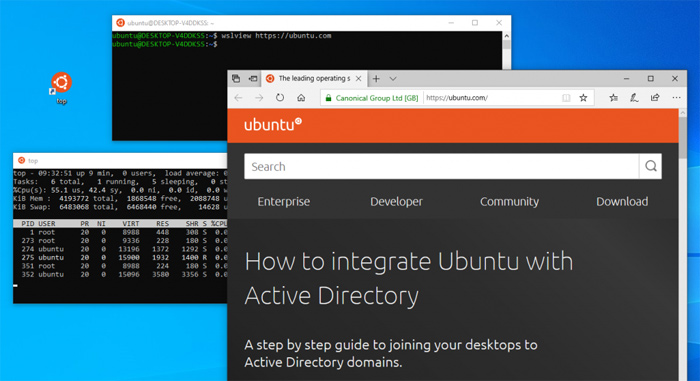Canonical 发布 Ubuntu-WSL 提供更好的 Ubuntu 集成