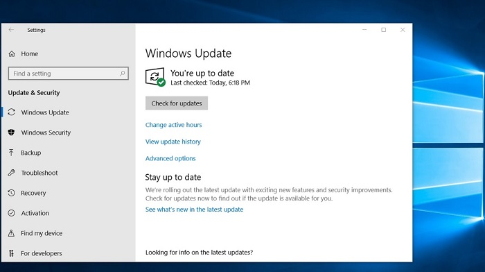 微软开始为Windows 10 1803用户自动升级至1903版本