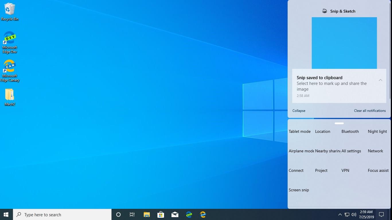 [图]Windows 10 Build 18947内部版还透露了全新的控制中心