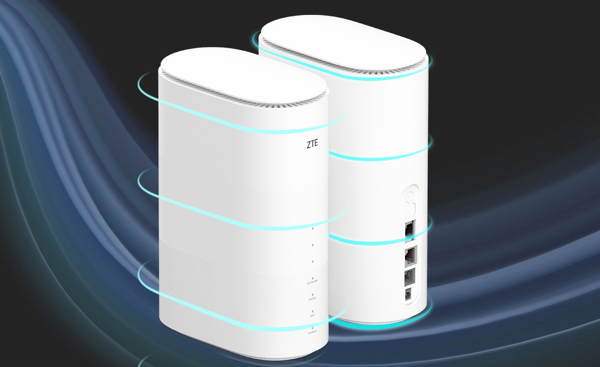 骁龙X50加持 中兴5G室内路由器MC801入网