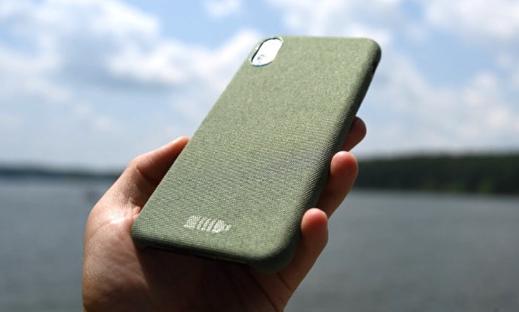从海洋回收垃圾中做出来的iPhone保护壳上手