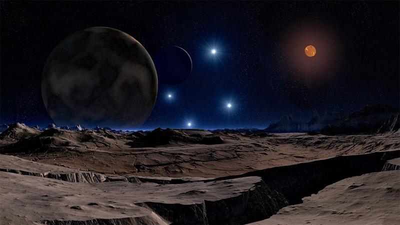 科学家最新发现:月球表面水冰有可能远远大于之前的预测