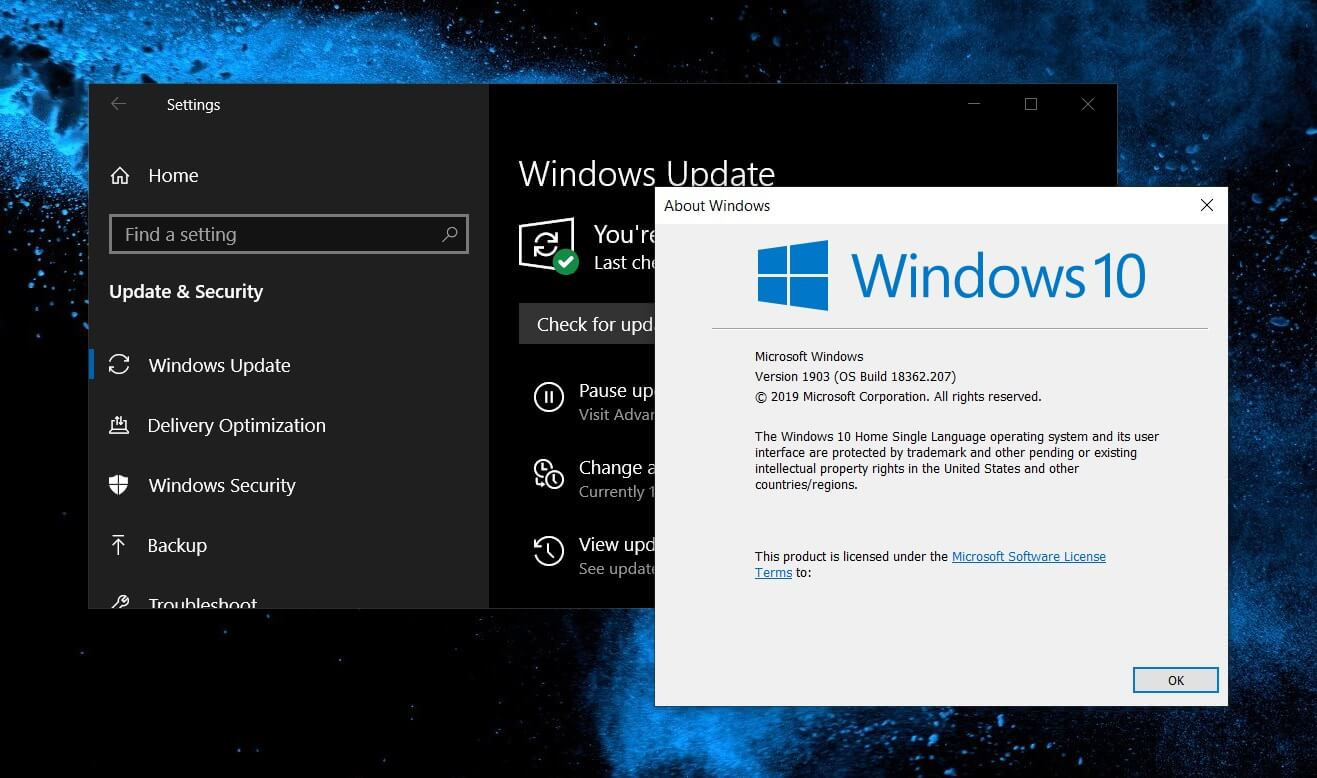 [图]微软正制作Windows 10 v1903远程桌面黑屏修复补丁