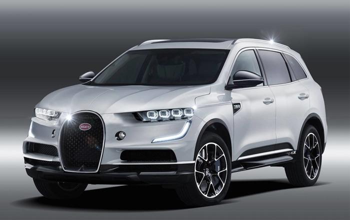 布加迪首款SUV最新消息曝光:使用Rimac技术/或为纯电动车型