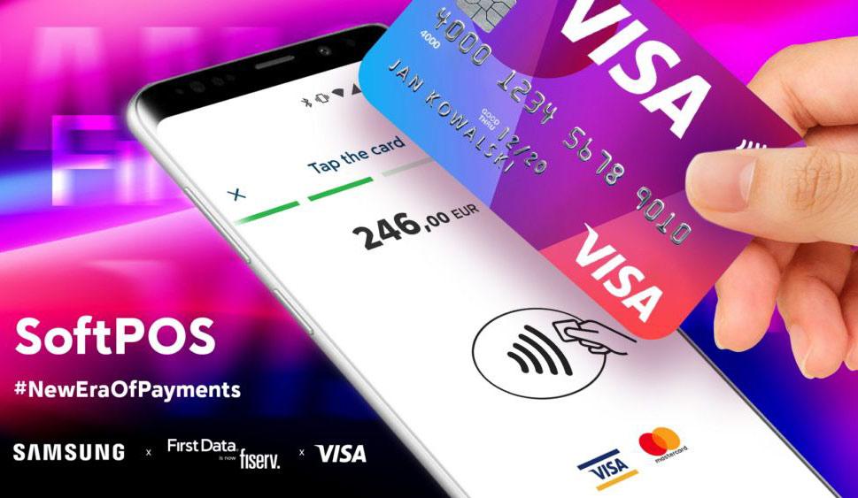 [图]无需传统支付终端 三星携手Visa推出SoftPOS支付解决方案
