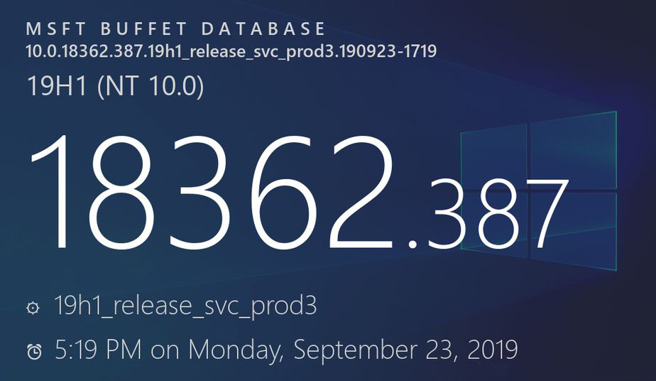 [图]Windows 10 v1903获累积更新:修复游戏音量过低问题