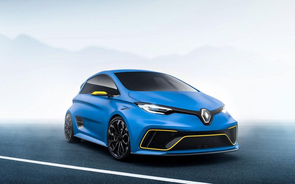 雷诺Zoe e-Sport概念车亮相 460马力/百公里3.2秒