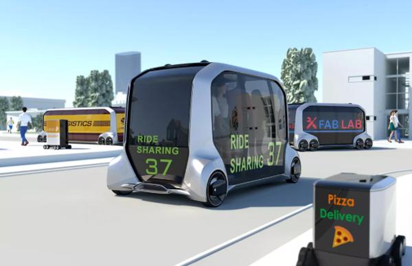 在东京奥运会开始前 日本将允许自动驾驶汽车在场馆周围自由穿梭