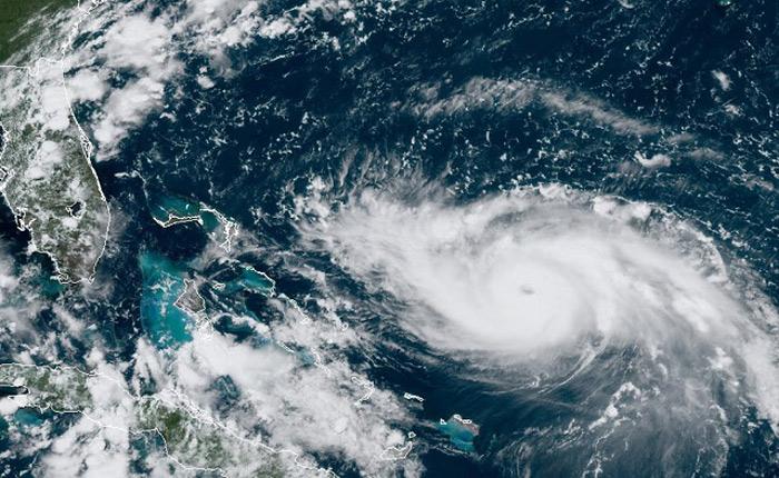 飓风多利安已升级为五级风暴 沿线流媒体直播信号遭受考验