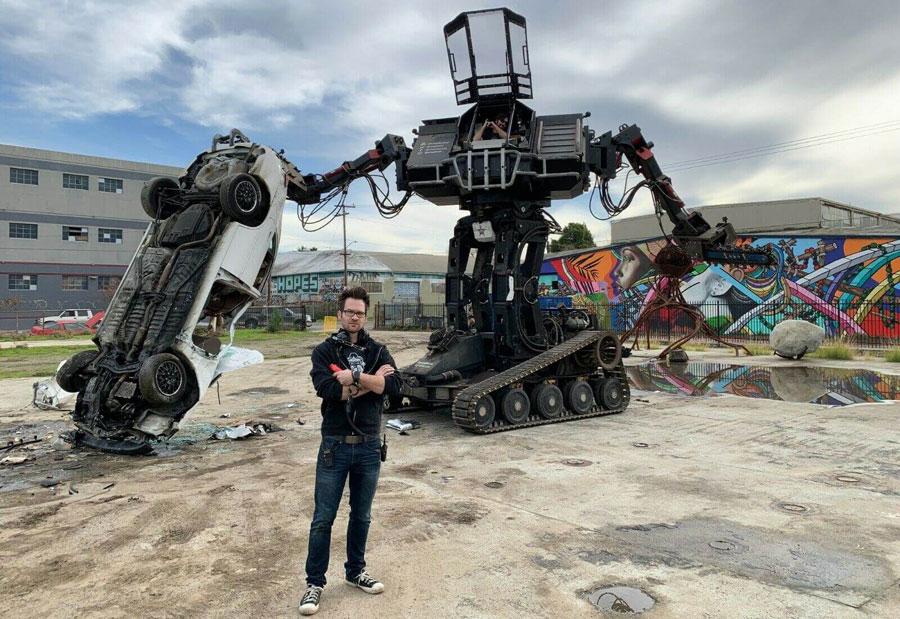 MegaBots公司破产 在eBay上拍卖巨型战斗机器人