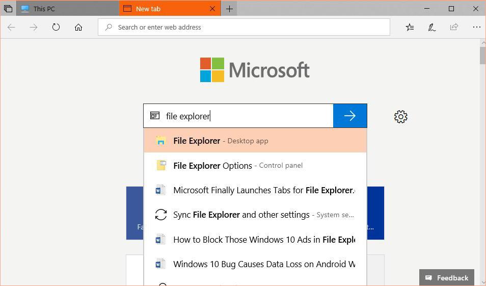 微软准备在Windows 10中带回最热门功能Sets