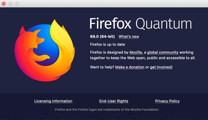 [图]Firefox 69正式发布:启用增强追踪保护 阻止视频/音频自动播放