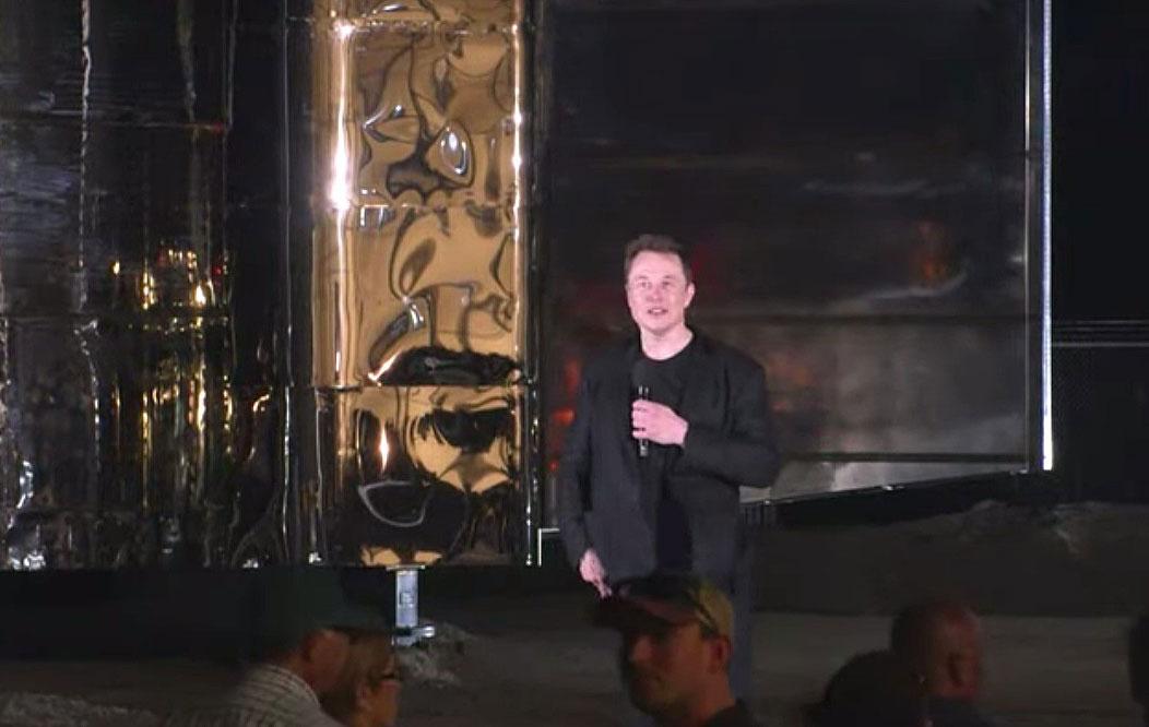 马斯克:没想到造星际飞船这么便宜 原以为要百亿美元
