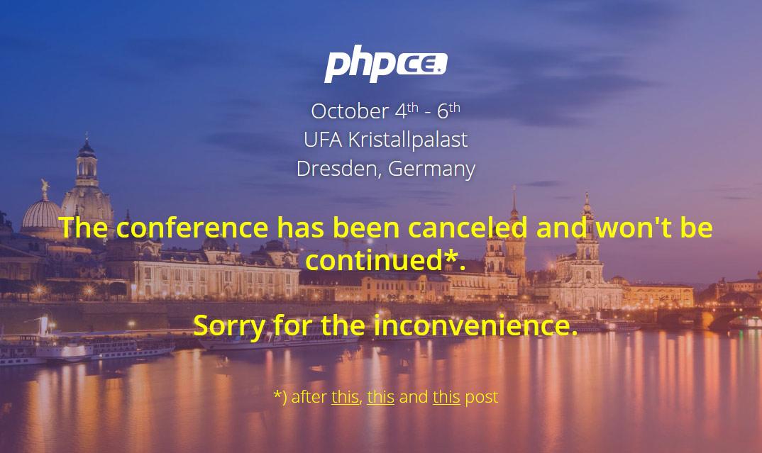 中欧 PHP 开发者大会因多元化争议而取消